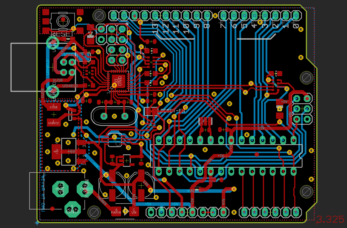 Arduino Uno Layout Full