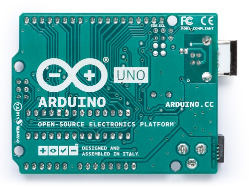 Arduino Uno Picture Bottom